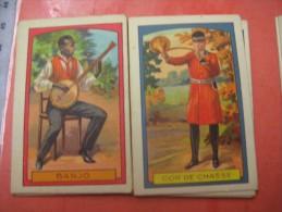 16 Chromos Different Chokolade DUC Chocolat Antwerpen 1930' Instruments Cornemuse Tambourin Countries - Chocolat