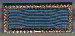 Blue Badge. d�coration US pour troupes d'�lite dont certaines unit�s fran�aises ont �t� d�cor�es en 1944/1945..