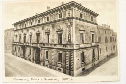 CREMONA - PALAZZO GRASSELLI BARNI 1935 -TIMBRO DI PARTENZA PALVARETO