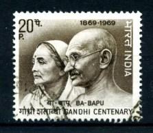 INDIA - GANDI - Year 1969 - Usato - Used. - Mahatma Gandhi
