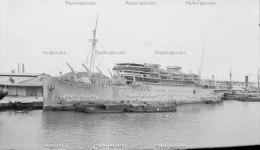 I1 - PAQUEBOT MARECHAL JOFFRE à SAIGON 1941 - Negatif Photo Original - Boats