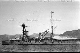 I1 - TOULON - Cuirass� LORRAINE - negatif photo original, navire de guerre