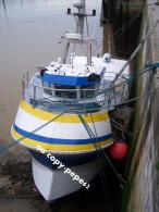 boulogne sur mer -le port -chalutier--BL623026- photo cpm