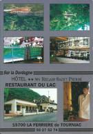 15  LA FERRIERE  De TOURNIAC   - Hotel Restaurant  ( Carte Pub ) - France