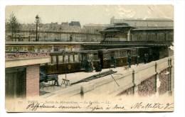 CPA  75  : PARIS  Métro Bastille   VOIR  DESCRIPTIF   §§§§§§§ - Public Transport (surface)