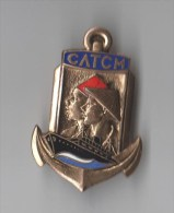 INSIGNE CATCH Centre Administratif des Troupes Coloniales en M�tropole, �mail - DRAGO BERANGER