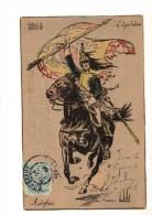 C P A--L'EQUITATION--1804--AUTREFOIS--illustrateur VALLEL  L--voir 2 Scans - Vallet, L.