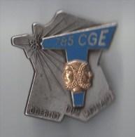 INSIGNE 785� COMPAGNIE DE GUERRE ELECTRONIQUE, T bleu , relief  - DRAGO PARIS G 2930