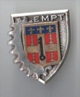 INSIGNE EMPT LE MANS Ecole Militaire Pr�paratoire Technique , cl� profil gauche - DRAGO PARIS H 666