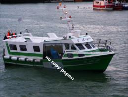 boulogne sur mer -le port -chalutier-l�epervier-BL5 62367-photo cpm