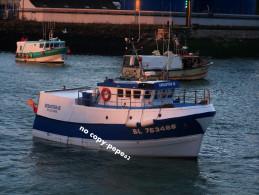 boulogne sur mer -le port -chalutier-s�bastienIII-- BL753485-photo cpm