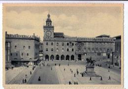 EMILIA-ROMAGNA BOLOGNA  PIAZZA VITTORIO EMANUELE CARTOLINA GRANDE - Italia