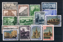 Sowjetunion/UdSSR 1947 Moskau Mi.Nr. 1137/51 Kpl. Satz Gestempelt - 1923-1991 URSS