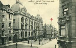ALLEMAGNE AACHEN AIX LA CHAPELLE - Städt Gewerbeschule Martinstrasse - Aachen