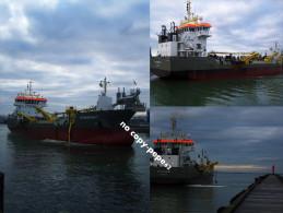 boulogne sur mer -le port -drague strandway-3 vues-photo