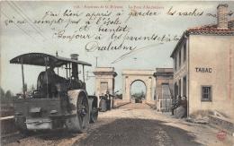 LOIRE  42  SANDREZIEUX  LE PONT  INDUSTRIE GENIE CIVIL  ROULEAU-COMPRESSEUR - Andrézieux-Bouthéon