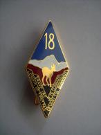 Insigne 18 em R�giment Infanterie.