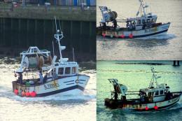 boulogne sur mer -le port -chalutier pater noster-3 vues-photo