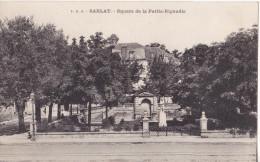 SARLAT EN DORDOGNE  SQUARE DE LA PETITE RIGAUDIE   CPA CIRCULEE - Sarlat La Caneda