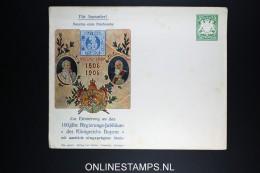 Bayern: Bayerns Erste Briefmarke Regierungs Jubilaum 1906 Umslag - Bavière
