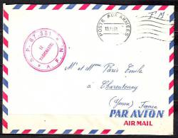 Militaria  POSTE AUX ARMEES    Le 13 11 1961  Lettre Pour CHARENTENAY Yonne D Un Soldat  A CONSTANTINE Algerie - Marcophilie (Lettres)