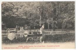 85 - LUÇON - Jardin Dumaine - Sur Le Grand Bassin - Promenade En Gondole - Lucon