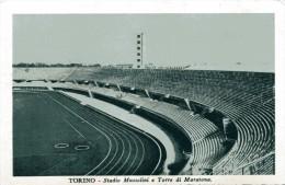 STADIUM ESTADIO STADE STADIO CALCIO TORINO STADIO MUSSOLINI TORRE DI MARATONA - Calcio