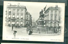 N°35   - Bruxelles -   La Place Royale   Fag19 - Monuments