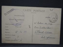 Détaillons Collection -Carte De Guerre 1914 / 1918 - Intérressant - A Bien Regarder Pour étude (Lot N° 2418) - Guerre De 1914-18