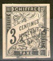 """Colonies Générales: Taxe N°3 Oblitéré """"Tamatave/Madagascar"""""""
