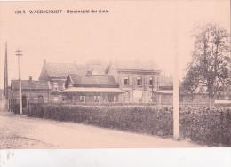 WAARSCHOOT : Binenzicht Der Statie - Gare - Waarschoot