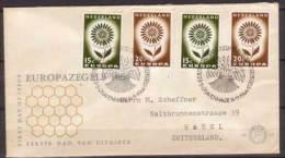 Niederlande , FDC , 1964 , Mi. Nr. 827 / 828 - FDC