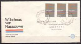Niederlande , FDC , 1968 , Mi. Nr. 901 - FDC
