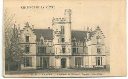 Cpa Mesves / Château De Mouron, Façade Principale . - Non Classificati