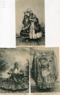 INDE(TYPE) 6 CARTES - Postcards
