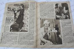 1932 Movie Actors Magazine -Imperio Argentina, Walt Disney, Barbara Weeks, Claudette Colbert, Francesca Bertini... - Revistas