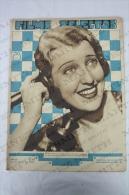 1933 Movie/ Cinema Actors Magazine - Jeanette MacDonald, Fifi Dorsay, Ann Dvorak, Mary Carlisle, Anita Page... - Magazines