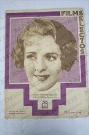 1933 Movie Actors Magazine - Ruby Keeler, Nancy Carroll, Lona André, Mae West, Marlene Dietrich, Cary Grant... - Revistas