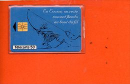 Télécarte 50 - Maison De La Grande Ecosse - Tirage 8300 Ex-09/93 - France