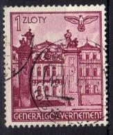 Generalgouvernement Mi 51, Gestempelt [280115XI] - Besetzungen 1938-45