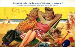 HUMOUR - ILLUSTRATEUR - TAYLOR - Fauteuils De Plage - Enfants - Plage - Sable - (n°1469). - Taylor