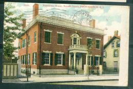 N°7005 - Penoleton House, Benefit Street, Providence, R.I.  Fag96 - Providence