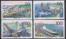 China 1996 Yvert 3408-13, City Of Tangshan After 1976 Earthquake - MNH - 1949 - ... Volksrepublik