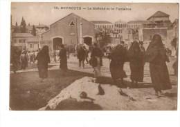 C P A--LIBAN--BEYROUTH--le Marché Et La Fontaine--voir 2 Scans - Liban