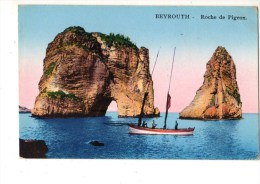 LIBAN---BEYROUTH--roche De Pigeon---voir 2 Scans - Liban