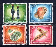 Papua New Guinea - 1976 - Bougainville Art - MH - Papua New Guinea