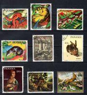 1967, Panama, Divers Arts, Franz Marc, Dürrer, Da Vinci Oblitéré, Lot 42939 - Sonstige