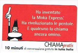 CHIAMAGRATIS - BIALETTI, MOKA EXPRESS  -   TIR. 5000      -  MINT   (RIF.CP) - Italia