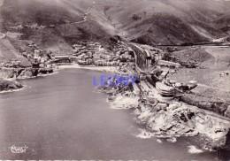 CPSM 10X15  De  CERBERE   (66) - Vue Panoramique AERIENNE, La Plage, L' Hôtel Du BELVEDERE Du RAYON VERT -1953 - Cerbere