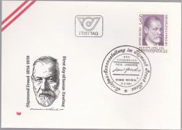 AUTRICHE : FDC : Sigmund Freud Psychiatre - FDC